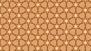 Brown Seamless Stars Pattern