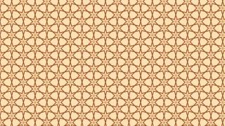 Brown Seamless Stars Background Pattern