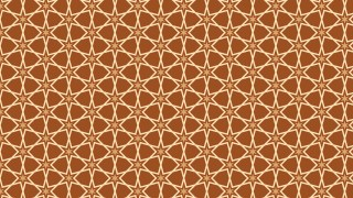Brown Star Pattern Illustrator