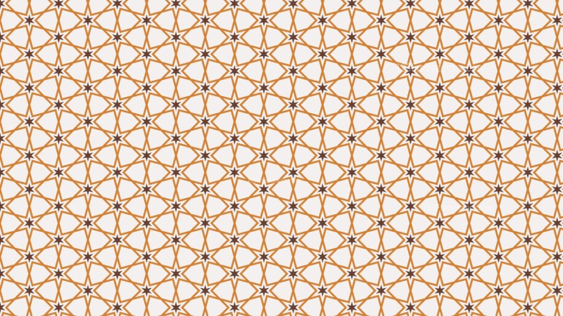 Light Brown Seamless Star Background Pattern Illustration