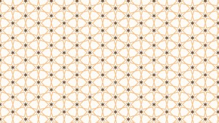 Light Brown Seamless Stars Pattern Vector Image