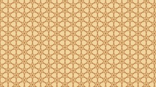 Brown Seamless Stars Background Pattern Vector Illustration