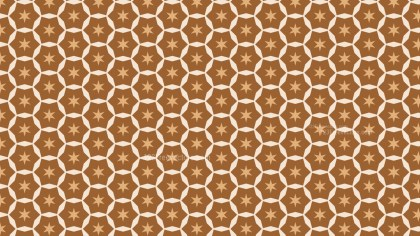 Brown Stars Pattern