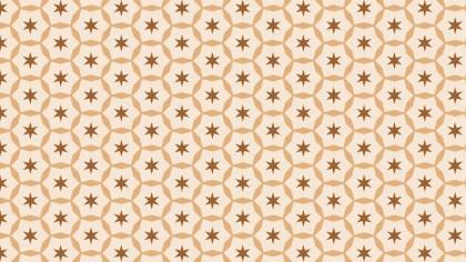 Light Brown Stars Background Pattern