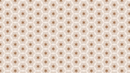 Light Brown Seamless Stars Pattern