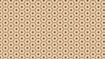 Brown Star Pattern Graphic