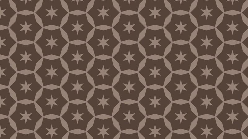 Dark Brown Star Pattern Background Illustration
