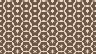 Brown Seamless Star Pattern Image