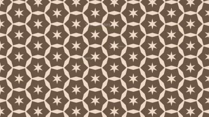 Brown Seamless Star Pattern Image