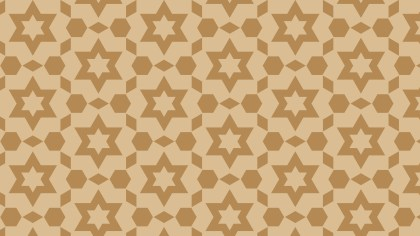 Brown Star Pattern