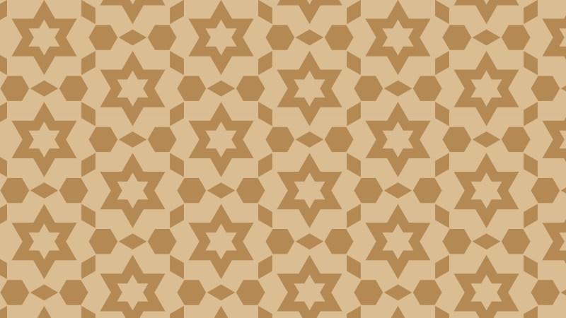Brown Star Pattern