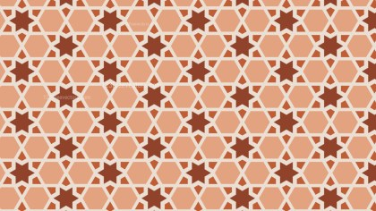 Brown Seamless Star Pattern
