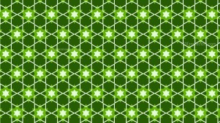 Dark Green Star Pattern Background Vector Image