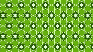 Green Star Background Pattern Illustrator