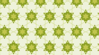 Green Seamless Stars Pattern Image