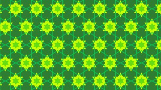Green Star Background Pattern