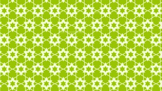 Green Star Pattern Background Vector Art