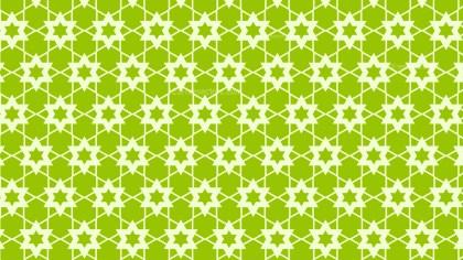 Green Star Pattern Background Vector Art