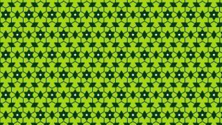 Green Seamless Star Pattern Illustration