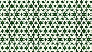 Green Seamless Star Pattern Background Design