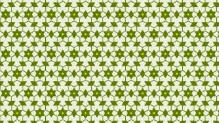 Green Seamless Star Background Pattern Image