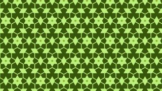 Green Stars Background Pattern Illustrator