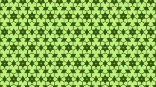 Green Seamless Stars Pattern Vector Illustration