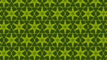 Dark Green Seamless Star Pattern Background Illustrator