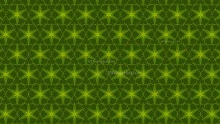 Dark Green Seamless Star Background Pattern Vector Illustration