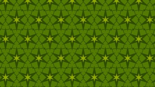 Dark Green Stars Pattern Vector