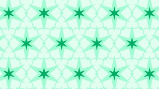 Green Seamless Stars Pattern Background Design