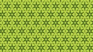 Green Seamless Stars Background Pattern Image