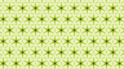 Light Green Star Pattern Background