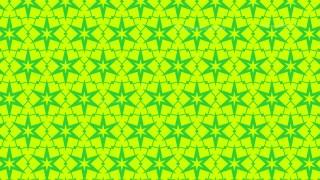 Lime Green Seamless Stars Pattern