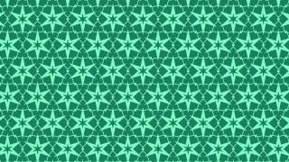 Mint Green Star Pattern Illustrator