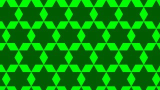 Green Seamless Star Pattern Background Graphic