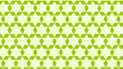 Green Seamless Star Background Pattern Illustration