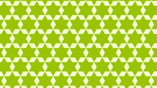 Green Stars Pattern Design