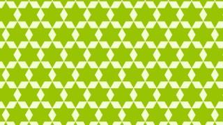 Green Stars Pattern Design