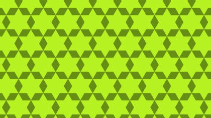 Lime Green Stars Pattern Background Image