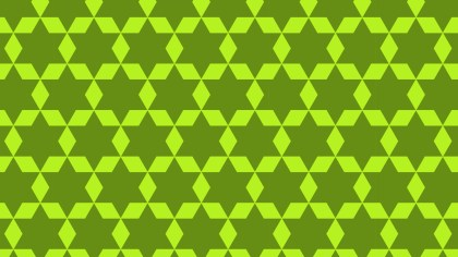 Green Stars Background Pattern Vector Graphic