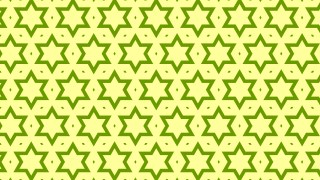 Green Seamless Stars Background Pattern