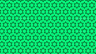 Emerald Green Star Pattern Background Illustration