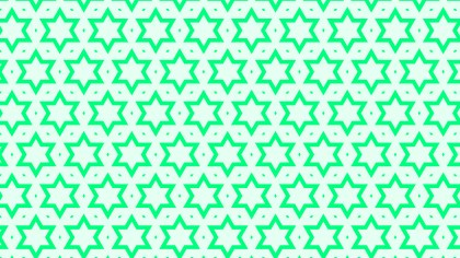 Spring Green Seamless Star Pattern Image