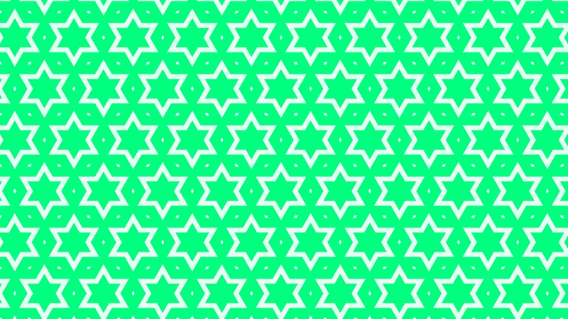 Spring Green Seamless Star Pattern Background Vector Graphic