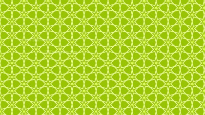 Green Seamless Star Background Pattern Vector Image