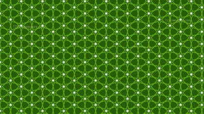 Dark Green Star Pattern Background