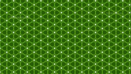 Dark Green Star Pattern Background