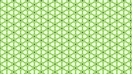 Light Green Star Background Pattern