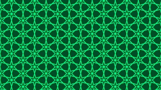 Dark Green Seamless Stars Background Pattern